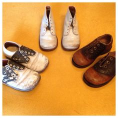 3 Vintage Boys Dress Shoes 1940s Polly Parrot by HoneyCultVintage, $50.00