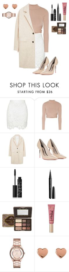 Untitled #18 by anna-z3 on Polyvore featuring Jonathan Simkhai, MANGO, Sophia Webster, Marc by Marc Jacobs, Ted Baker, Too Faced Cosmetics, NARS Cosmetics and Marc Jacobs