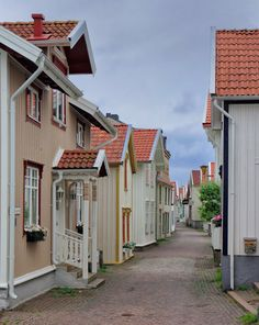 Lysekil . .spent a summer vacation here many years ago.