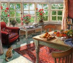 Коллекция картинок: Дом, милый дом... Художник Stephen J. Darbishire