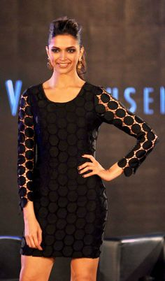 Deepika Padukone at the launch of Van Heusen Spring Summer 2014 collection Indian Celebrities, Bollywood Celebrities, Bollywood Actress, Celebrities Fashion, Bollywood Stars, Bollywood Fashion, Western Dresses, Western Wear, Deepika Padukone Style