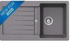Bluci Orbit G100 Single Bowl Chroma Granite Sink Granite, Garage Doors, Sink, Outdoor Decor, Home Decor, Sink Tops, Vessel Sink, Decoration Home, Room Decor