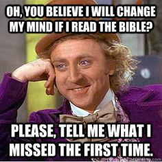 What did I miss? #bible #religion #atheist #atheism
