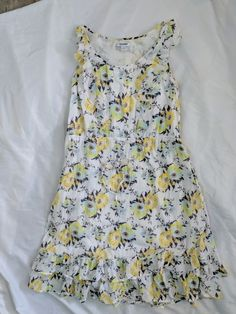 Ladies OLD NAVY sleeveless floral dress size S. Spring. Summer #OldNavy