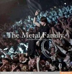 Metal Music Family, this is why you should open your eyes and fucking respect us