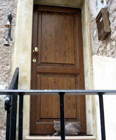 Porta in legno di abete spazzolato - Centurioni 1880 | PORTE ...