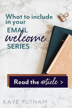 Email welcome series, welcome sequences, brand indoctrination emails, email automations... whatever you call them, having a list of your ideal clients is important to your brand's success. About: email welcome series for online entrepreneurs, creative sma