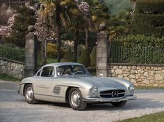 This beautiful 1955 Mercedes-Benz #300SL #Gullwing will be auctioned off at the Sotheby's Auction in Monaco on May 14th, 2016. Pic credit © Sotheby's / #BruceAdams190SL #190SLRestorations #300SLRestorations