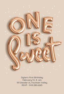 Free Birthday Invitation Templates First Invitations Custom Bday Girl Baby