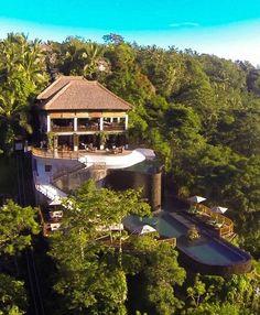 The Hanging Gardens Ubud, Bali, Indonesia