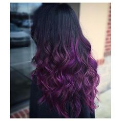 40 Cool Ideas of Lavender Ombre Hair and Purple Ombre ❤ liked on Polyvore featuring hair