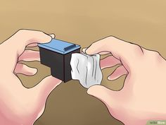 3 Ways to Fix an Old or Clogged Ink Cartridge the Cheap Way Printer Cartridge, Black Ink Cartridge, Old Newspaper