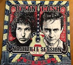 Johnny Cash & Bob Dylan Nashville Sessions 1969 SEALED Color Vinyl 2-LP Set Rare