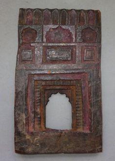 Antique-Wooden-Hindu-Altar-Frame-Nepal
