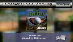 Gameplay : Tee Off Golf [Dreamcast]