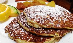 Alana's- oatmeal pancakes! Redwood city and Burlingame