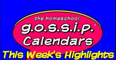 Here are just some of the HIGHLIGHT events on The Homeschool Gossip's calendars this week!* Teen Meet Up at The Park: Team Game ~ RSVP! at Bailey Road Park* Teen Jump Day at Defy Gravity* Homeschool Skating at Frye's in Concord* Homeschool Day Carolinas Aviation Museum* Scottish Dancing at Charlotte Scottish Country Dance Society, Inc.* Trampoline Homeschool Specials at Sky High & Defy Gravity* Library Events ~ Various Locations see the post!* Teen Board Game Night at Davidson Library*