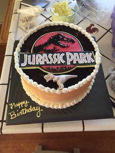 Jurassic Park Cake World Birthday Cakes Design Inspiration