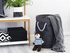 Mocka Denim Basket | Bedroom Storage | Mocka
