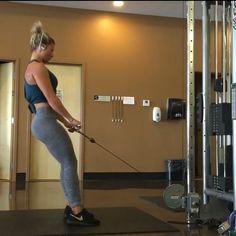 Rutina para tu trasero si te acabas de inscribir al Gym