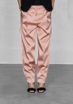 & Other Stories Frilly Trousers