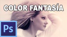 Efecto rápido de fantasía - Tutorial Photoshop en Español por @prismatut...