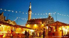 Tallinnan Vanhankaupungin Joulutori 2014. Christmas fair in the old town of Tallinn, Estonia. #honeymoon