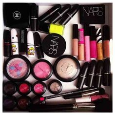 #mac #chanel #nars