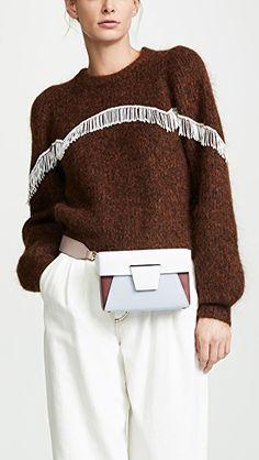 Mali + Lali Lana Faux Fur   Vegan Leather Belt Bag  768a63d5aac4b