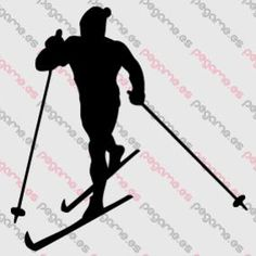 Pegame.es Online Decals Shop #sport #snow #winter #ski #nordic #vinyl #sticker #pegatina #vinilo #stencil #decal