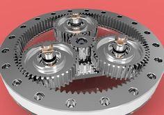 Planetary Gears - Planetarni Reduktor free 3D Model .sldprt ...