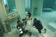 Phoebe Rudomino is magical!! Underwater photos from some of Pinewood Studios' most famous films are to go on display for the first time. The photographs offer a rare glimpse into life behind the scenes at the studio's world famous underwater stage. They feature stars such as Keira