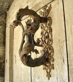 Ariege, France, Door Knocker