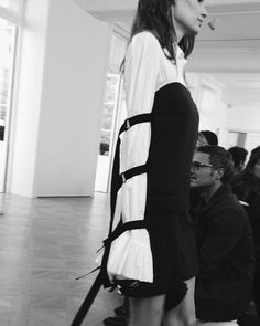 Its all about the sleeves at @eachxother #PFW #eachother by adenorah