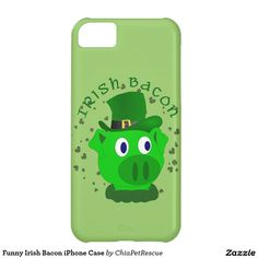 Funny Irish Bacon iPhone Case iPhone 5C Cases