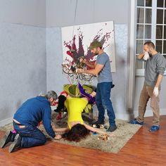 Making-of d'un shoot - Photo : Achille Lepera