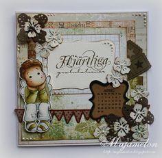 Birthday card  #card #cardmaking #stamp #pattern #happybirthday #magnolia