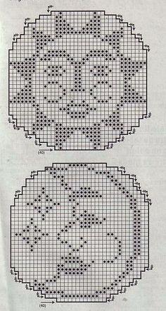 Die 939 Besten Bilder Von Filet Häkeln Decken Crochet Patterns