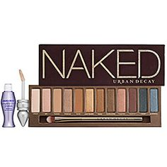 Urban Decay Naked pallette - greatest eyeshadow pallette ever!