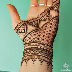 Tribal Hand Tattoos for Women Henna . Tribal Hand Tattoos for Women Henna . Pin by Samra Says On Tattoo Ideas 3 Henna Hand Designs, Dulhan Mehndi Designs, Tribal Henna Designs, Mehndi Designs Finger, Mehndi Design Pictures, Mehndi Designs For Fingers, Simple Mehndi Designs, Mehndi Designs For Hands, Geometric Henna