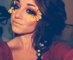 Festival Flower Makeup