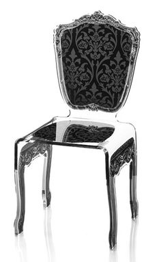 French Lucite Chair $850