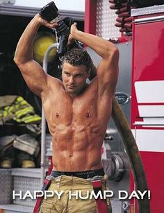Hmmm- in all my years on the fire department I don't remember anyone who looked like this