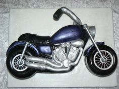 motorcycle cakes | Motorcycle Cake