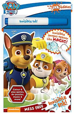 Paw Patrol INKredibles Mess Free Invisible Ink Pen