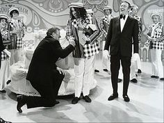 Laugh in Regulars | John Wayne and Tiny Tim help Laugh-In celebrate its 100th episode in ...