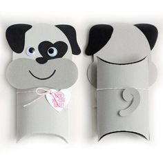 I think I'm in love with this shape from the Silhouette Design Store! Toilet Roll Craft, Toilet Paper Roll Crafts, Diy Crafts For Kids, Fun Crafts, Art For Kids, Valentine Box, Valentine Pillow, Pillow Box, Animal Pillows