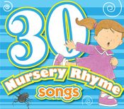 30 Nursery Rhymes.     Sing and learn 30 favorite nursery rhymes! This new collection is perfect for toddlers, preschoolers, and young children! Print the PDF Lyrics from your own computer.  $6.99