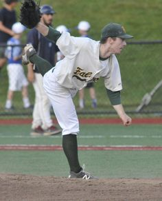 LYNN - Over and over again, Joey Rogers raised his right leg in his windup, hid the ball with a deceptive right-leg kick that left his back facing the batter and released the baseball toward the plate, where hit-starved Danvers High batters squeezed their knuckles around their bats.