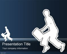Escape PowerPoint Template is a free escape strategy presentations but also it is an interesting background template for presentations on police or thieves